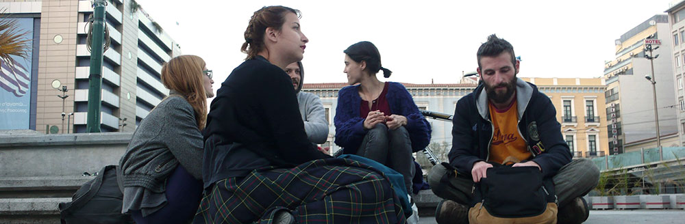 Breaking the borders 05/04/2013 Διαδρομή: πλατεία Κοτζιά-πλατεία Ομονοίας –πλατεία της Σπλάτζιας στα Χανιά –Ηackney Wick στο Λονδίνο