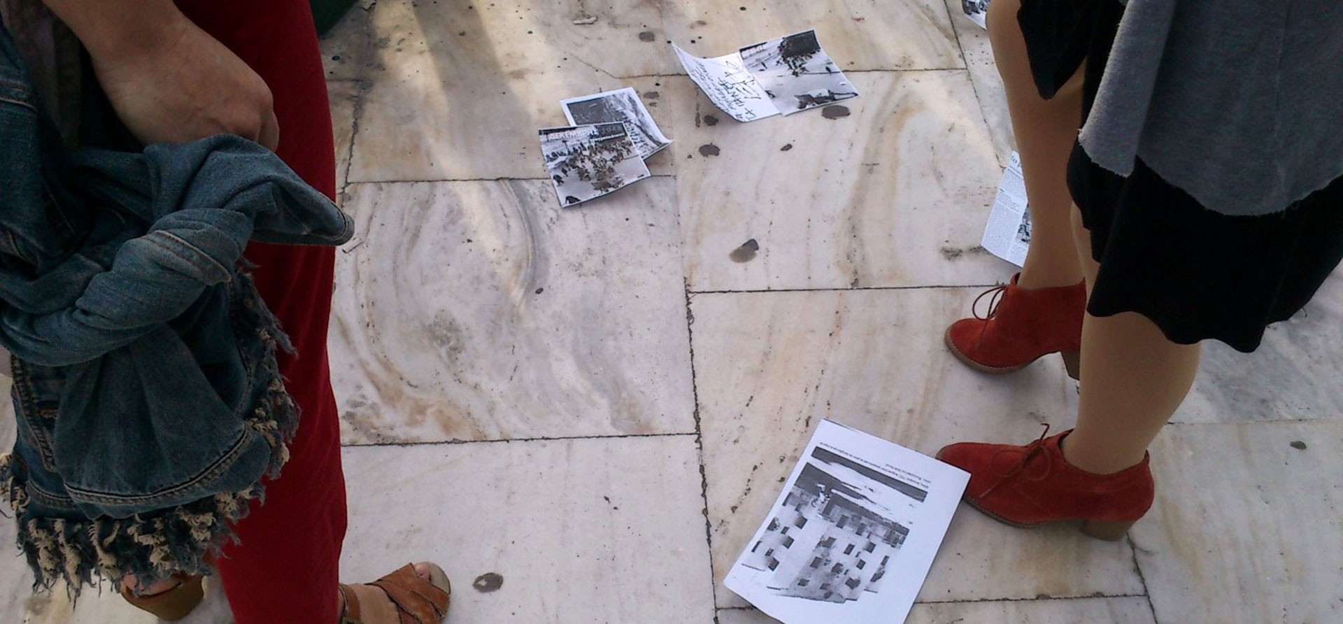 Revolution Bodies. Περπατώντας στο κέντρο της Αθήνας.